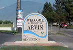 Arvin City Welcome