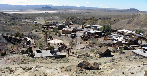 Calico Ghost Town and Historic Landmark