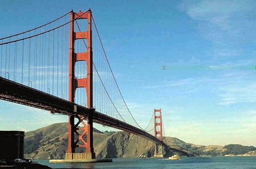 golden gate bridge drawing. Golden Gate Bridge