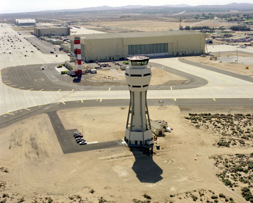Edwards Air Force Base Control Towers