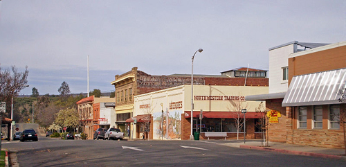 Oroville: Historic Downtown