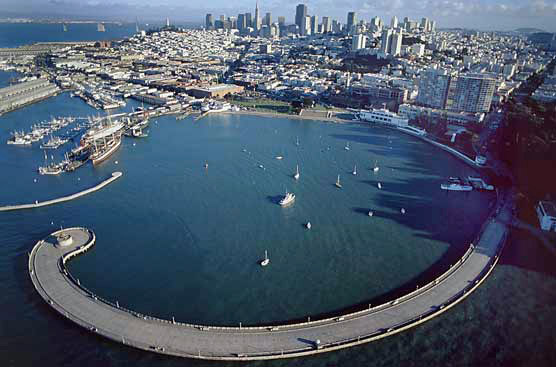 Aquatic Park Cove in the City and County of San Francisco