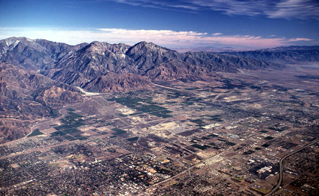 San Gabriel Valley and Mountains