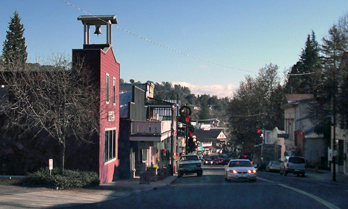 Historic Downtown District of Sonora California
