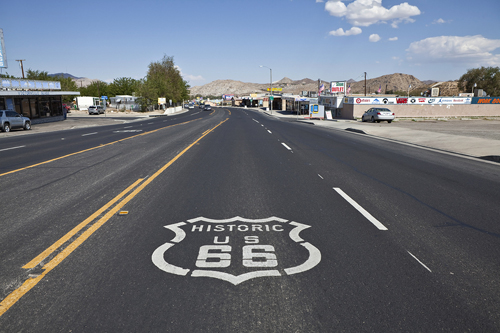 Victorville on Route 66